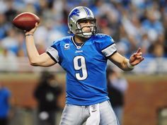 American football - Matthew Stafford - Detroit Lions (2560×1920)