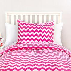 Zig Zag Duvet in Pink by Dormify