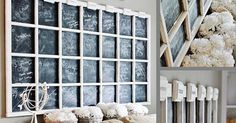 vecchia finestra, vernice lavagna , shabby