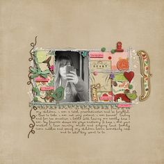 this would be great to turn into a non digital #scrapbook page