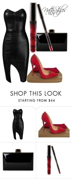 """""""red widow"""" by nattaca on Polyvore featuring Posh Girl and Christian Louboutin"""