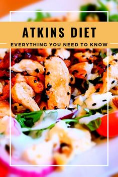 The Atkins Diet: Everything You Need to Know - Thinking of trying the Atkins Diet? Then here's a breakdown of what you're getting into, and ev - Dieta Atkins, Atkins Diet, Whole Food Recipes, Diet Recipes, Cooking Recipes, Low Fat Diets, No Carb Diets, High Carb Vegetables, Iifym Diet