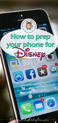 There's a lot to prep before a trip to a Disney park! Including your PHONE!! Here's what you need to know! | #Disney #DisneyWorld #WatlDisneyWorld #Disneyland #Disneylandresort #Florida #Orlando #Claifornia #Anaheim #DisneyVacation #DisneyTips #PhonePrep #PhoneTips