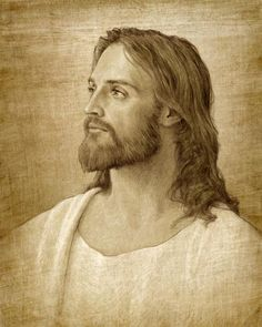 Though drawn many ways, it is undeniable that our Lord is all about the Beard, too!