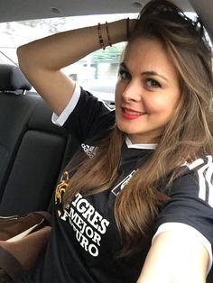 Virginia Ramírez Tigres UANL.