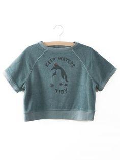 SS Sweatshirt Keep waters tidy $88