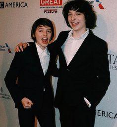 My babes-Noah schnapp and Finn Wolfhard