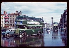 Wonderful Color Photographs That Capture Street Scenes of Dublin in 1961 ~ vintage everyday Then And Now Photos, Dublin City, Romantic Photos, Still Standing, Dublin Ireland, Vintage Photographs, Vintage Photos, Back In The Day, Old Photos