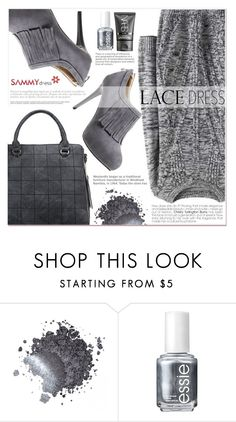"""Grey Edition"" by lucky-1990 ❤ liked on Polyvore featuring Essie and NARS Cosmetics"
