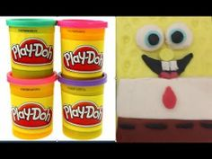 Play Doh How to make Spongebob***  It's very easy.***