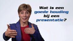 Wat is een goede houding bij een presentatie?