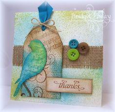 SC431 Tag Thanks by bfinlay - Cards and Paper Crafts at Splitcoaststampers