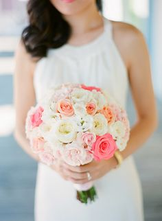 Bright, fresh and lovely colors! #pastels #bouquet