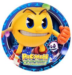 PAC-MAN and the Ghostly Adventures Dinner Plates