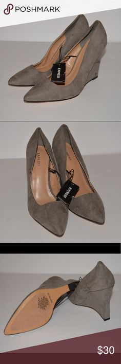 Express Nwt Express Shoes Wedges