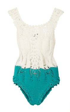This **She Made Me** Leila Crochet Bikini Top features floral crochet embroideries and ties at the shoulders.