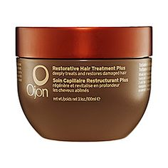 What it is: Ojon's cult-classic restorative treatment reformulated with a new lighter scent and fortified with Rouge Oleifera.What it does:This clinically proven treatment is purified using an exclusive double-filtration method and fortified with nat