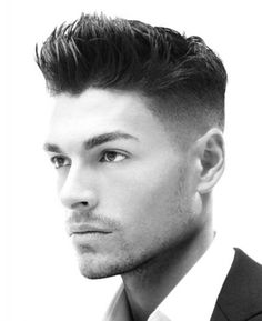 Haircuts For Men With Round Faces Quiff