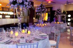 tall wedding centrepieces by Celebrations Ltd | Cayman Weddings & Events