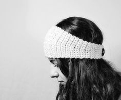 One Hour / Half Skein Headband  Crochet Pattern  PDF  by birdeli, $4.00