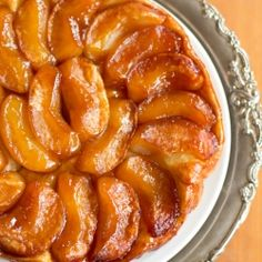 """Apple Tarte Tatin or """"Apple Butter Magic."""" Simple, stunning, out-of-this-world delicious"""