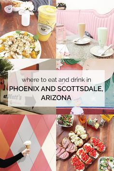 Taking a trip to Phoenix and/or Scottsdale, Arizona? Check out this handy guide with restaurants, bars, and fun things to do!