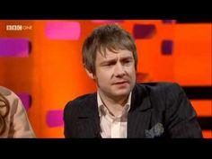 "Martin Freeman - clip from Graham Norton Show, 6 Jan 2012                      my favorite interview ever. ""F you I won a BAFTA."""