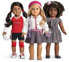 My American Girl dolls