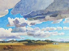 June Clouds Passing Over - Carolyn Lord