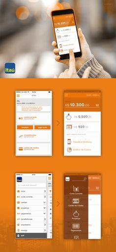 Redesign app Itaú iO