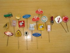 collecting pins