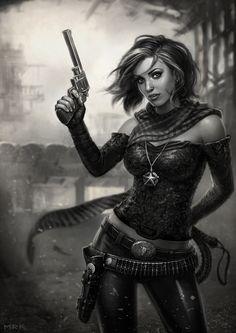 Lady Justice by Bogdan-MRK.deviantart.com on @deviantART