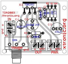 power amplifier volume Circuit of power audio amplifier with ic for 10 Watt power amplifier ic Circuits Automotive Audio amplifier tda Amplifier Class D Amplifier, Speaker Amplifier, Speakers, Electronic Schematics, Electronic Kits, Hobby Electronics, Electronics Projects, Home Theater Amplifier, Subwoofer Box Design