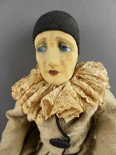 Lenci Cloth Boudoir Doll (1930's).