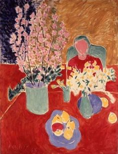 Henri Matisse, plum blossoms #henri-matisse #art