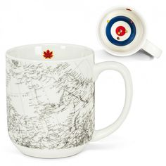 Tasse Curling Grande artiste canadien Doug Jackson Sport Canada Thé Café chaud chocolat Tisane expresso lideecadeauweb.ca collection chocolat Abbott collection Wildly Delicious, Curling, Jackson, Shipping Date, Expresso, Stoneware Mugs, Vintage Maps, Canadian Artists, Graphic Patterns