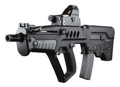 The IWI (former IMI) Tavor TAR-21 is an Israeli assault rifle designed to be more effective in urban combat than the M16 series but still be...