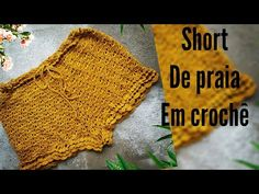 Crochet Shorts, Crochet Clothes, Crochet Bikini, Crochet Top, Needle Tatting, Crochet Handbags, Crochet Videos, Free Pattern, Crochet Patterns