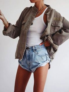 Mode Outfits, Short Outfits, Summer Outfits, Fashion Outfits, Classy Outfits, Casual Outfits, Love Fashion, Womens Fashion, Street Style