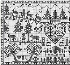 Austria 1 de 2  gazette94: free pattern