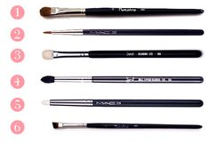 Alina Rose Makeup Blog: Pędzle do makijażu oka: must have.