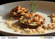 Portobello, Baked Potato, Low Carb, Potatoes, Baking, Ethnic Recipes, Fit, Foods, Food Food