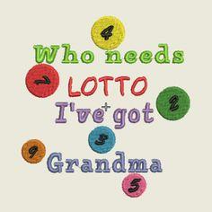 Lotto saying | Spookies Treasures