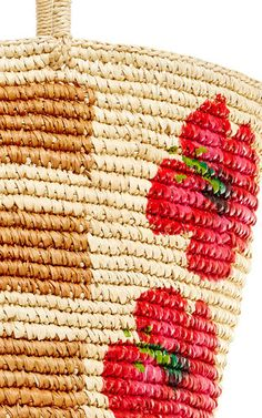 Stripe And Flower Maxi Tote by SENSI STUDIO Now Available on Moda Operandi