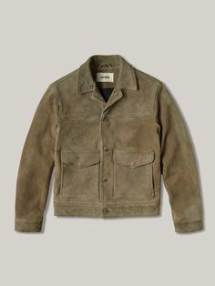 Every guy should always have a good leather jacket on hand, because this timeless menswear staple is always in style. Shearling Jacket, Suede Jacket, John Varvatos, Reiss, Botas Red Wing, Tommy Hilfiger, Best Leather Jackets, Ralph Lauren, Men's Clothing