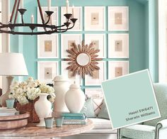 Catalog Paint Colors: Spring 2013 from Ballard Designs  I  howtodecorate.com