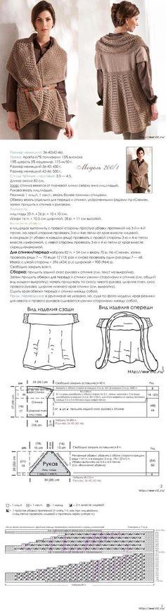 Вязанный кардиган | Вязание спицами. Для женщин | Постила