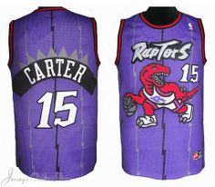 d1dacc8c2 Vince Carter NBA Jerseys Toronto Raptors  15 Purple