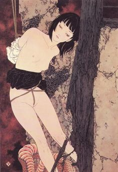 fugu-suicide:    Takato Yamamoto - Captured -  scan from Rib of a Hermaphrodite