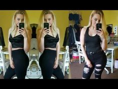 Outfit's Of The Week | January - YouTube